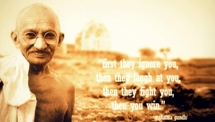 Mahatma Gandhi a jeho 10 zásad