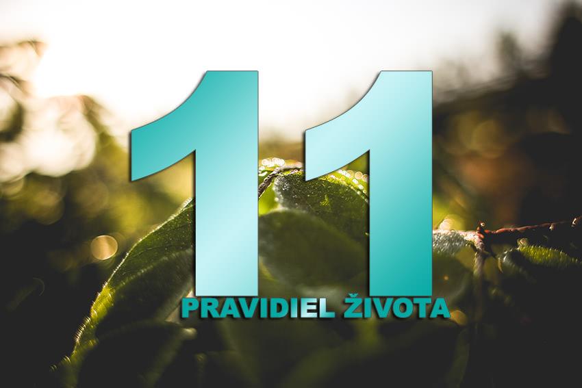 11 Pravidiel Života
