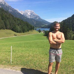 Tirolské hory a jazero :)