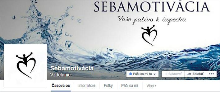 Sebamotivácia Facebook FanPage