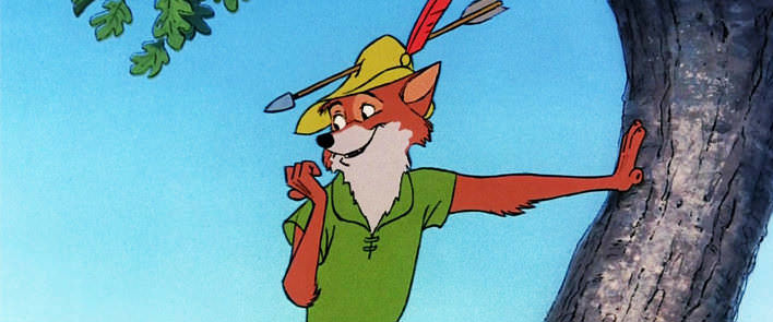 Kreslený Robin Hood
