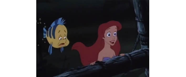 Ariel ako Malá morská víla