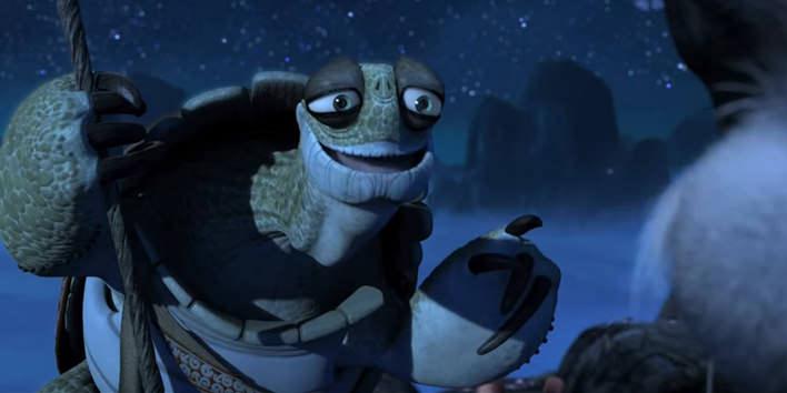 Majster Oogway z rozprávky Kung Fu Panda