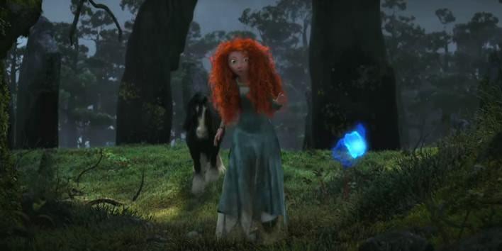 Merida z rozprávky Rebelka