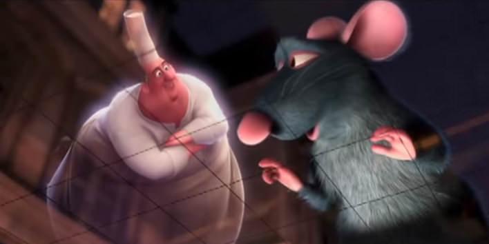 Gustáv z rozprávky Ratatouille