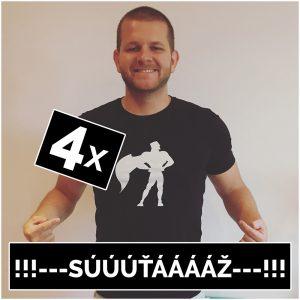 Súťaž o štyri tričká Motivation-Man.sk